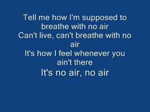 Songtext von Jordin Sparks - No Air Lyrics