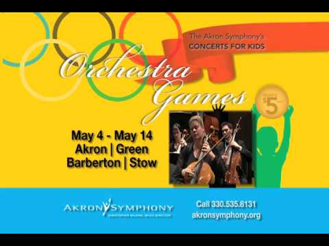 Akron Symphony`s Concerts For Kids 2010: Orchestra Games