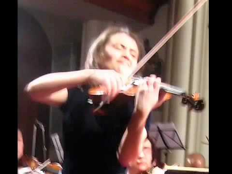 Julia Sakharova performing Zigeunerweisen by Sarasate