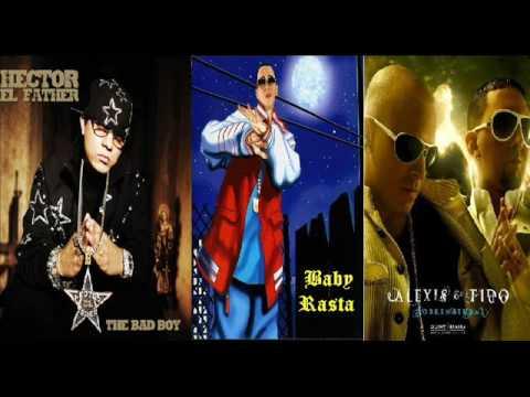 Hector el Father - Baby Rasta - Alexis y Fido - El Lobo [Official Song HQ]
