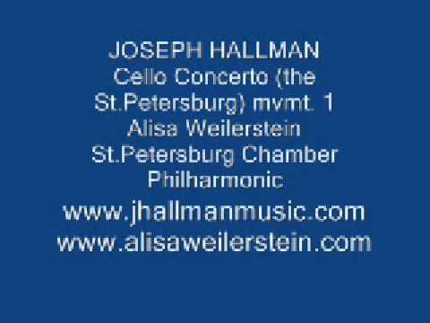 HALLMAN: Cello Concerto. mvmt.1: Alisa Weilerstein, cello