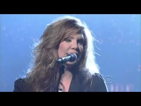 Alison Krauss and Union Station - Paper Aeroplan Letterman 2011 04 13 HQ video