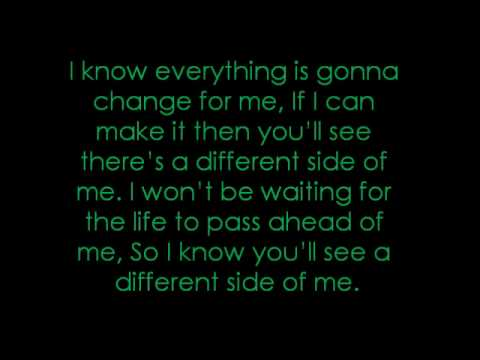 A Different Side Of Me - Allstar Weekend Lyrics