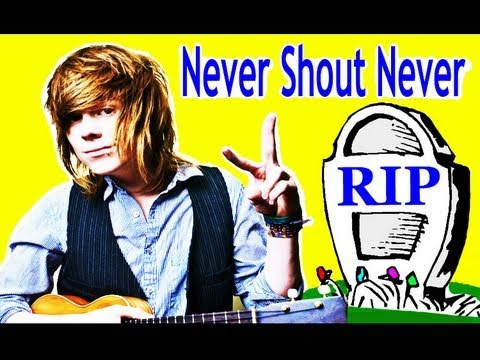 RIP Never Shout Never =( Christofer Drew Interview Alternative Press 2011