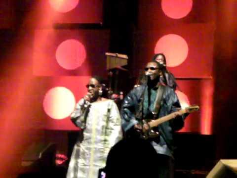 Le dimanche à Bamako - Amadou et Mariam - Olympia 01/04/09