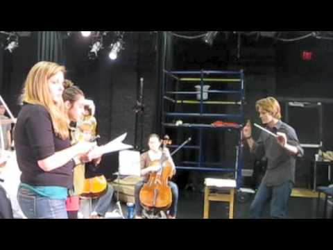 Spencer Cromwell Conducting Opera Theater of Yale College Dress Rehearsals (Part I).m4v