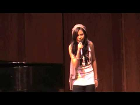 "Lianah Sings ""Reset"" by Charice at Lincoln Center"