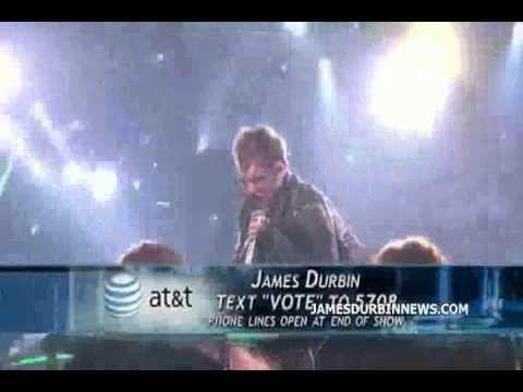 American Idol April 13, 2011 - James Durbin feat Zakk Wylde - Heavy Metal - Sammy Hagar - Top 8 Week
