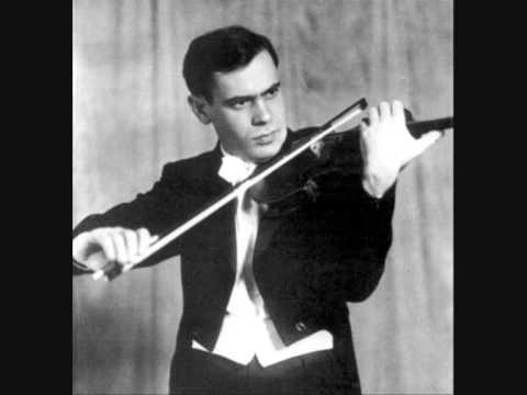 Leonid Kogan plays Barber`s Violin Concerto 1rst Mvt
