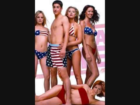American Pie Theme Song (This bed is on Fire) Lyrics With Diashow
