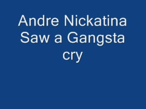 Andre Nickatina Saw a Gangsta Cry