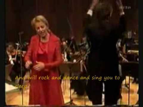 Anne Sofie von Otter - Erlk�nig (with English subtitles)