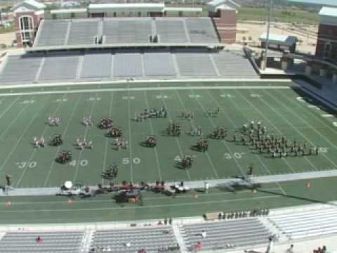 UIL Area E Contest 2008 DHS Band/Dolls - Appalachian Spring