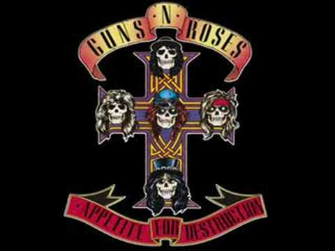 It`s So Easy Appetite For Destruction Guns `N` Roses
