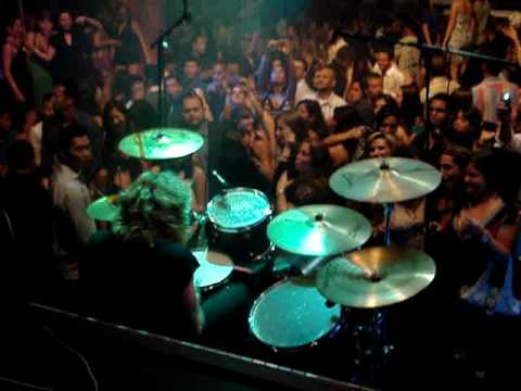 Steven Adler Drum Show Guns N` Roses Live And Loud Chip Z`Nuff Sweet Child