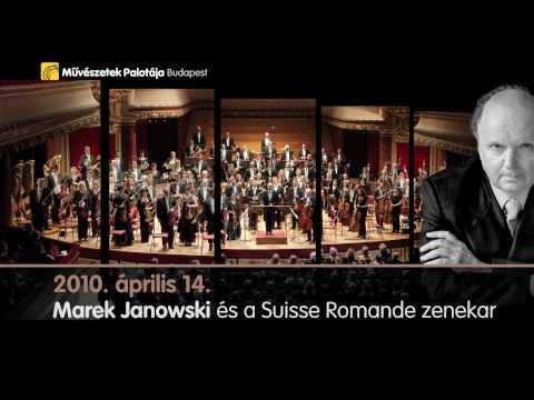 Marek Janowski �s a Suisse Romande zenekar - 2010.04.14., m�pa programaj�nl�