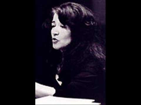 Martha Argerich plays Schumann Sonata in G minor mov. 1
