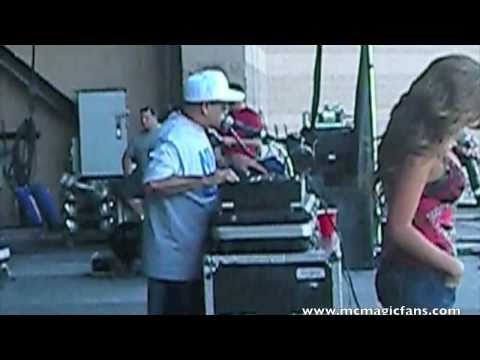 MC Magic LIVE - Art Laboe 2010 Part 1