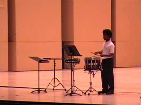 Jay- ASO Snare Drum Competition- Division II Round I