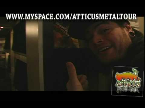Cribs- Emmure, Winds Of Plague Bus- Atticus Metal Tour