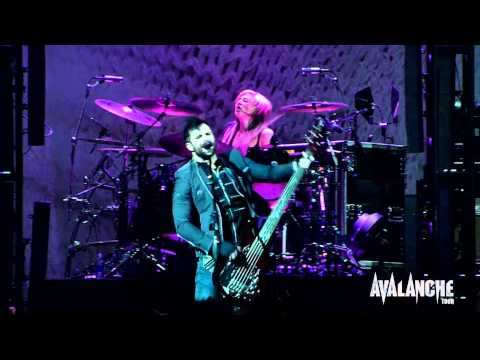 Skillet - Whispers in the Dark, Live @ Avalanche Tour, Ft. Wayne Indiana 3/29/2011
