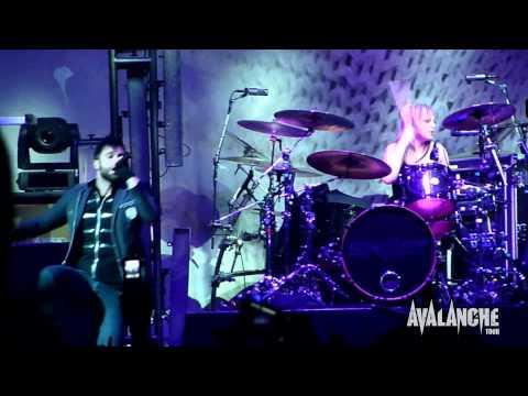 Skillet - Hero, Live @ Avalanche Tour, Ft. Wayne Indiana 3/29/2011