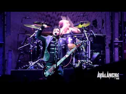 Skillet - Sometimes, Live @ Avalanche Tour, Ft. Wayne Indiana 3/29/2011