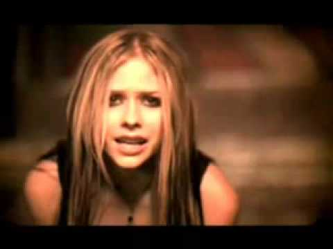 "Avril Lavigne ""you never satisfy me"""