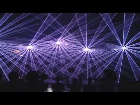 Jeff Mills @ Awakenings 28-11-09 [HD Video] Amsterdam (vette lasershow)