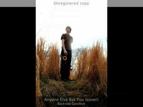 Anyone Else But You (cover) - Backseat Goodbye