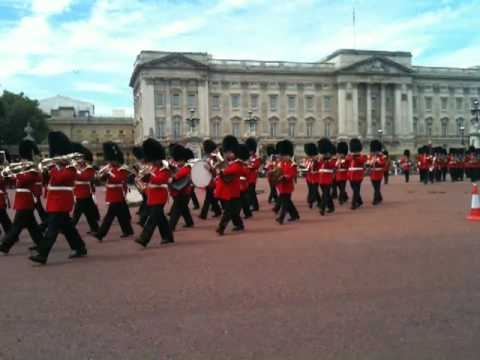 "The Irish Guards Playing ""Red Shield"""