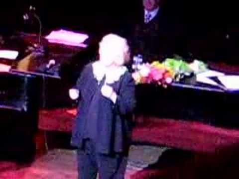 Barbara Cook at 80 with NY Philharmonic 11/19/2007