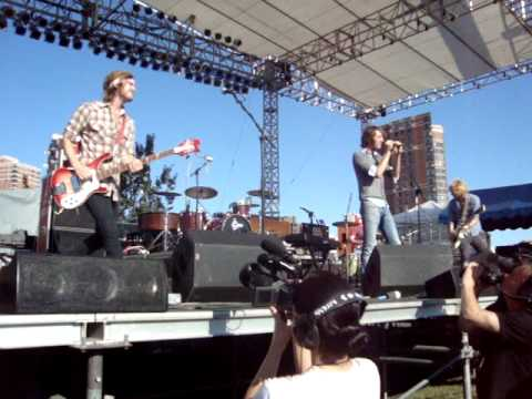 Green River Ordinance - Out of My Hands - Basilica Block Party 2009