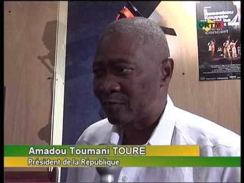 Malian President about Bassekou Kouyate`s new album: `I speak Fula` (on ORTM)