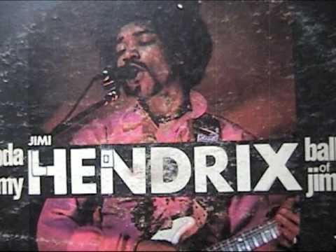 JIMI HENDRIX . LP . POLYDOR . ROCK ME BABY . RARE COLORED VINYL