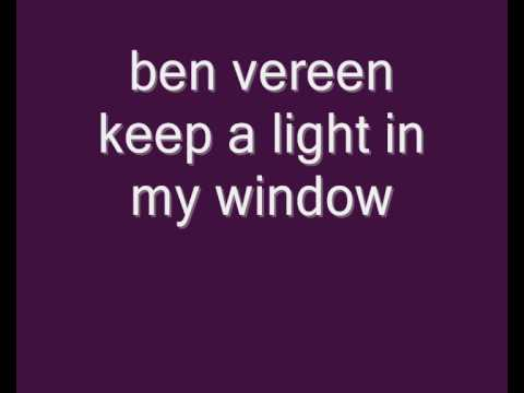 ben vereen keep a light in my window