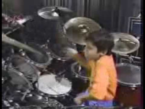 Jacob Armen drum solo, seven years old!!