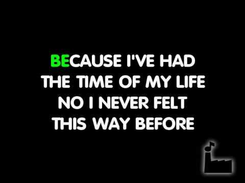 Time Of My Life - In Style Of Bill Medley & Jennifer Warnes - Karaoke
