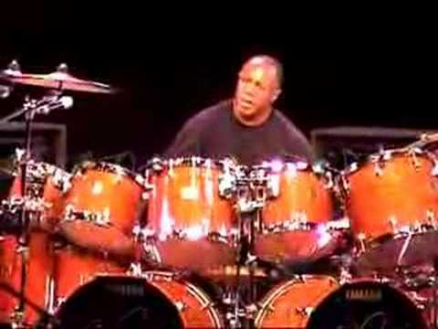 Billy Cobham at the Modern Drummer festival, Part. IV