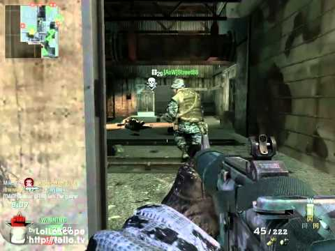 Call of Duty Black Ops AK-47 and Commando