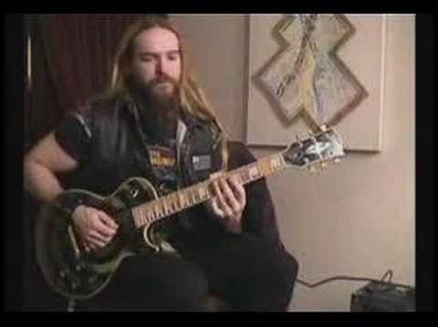 Zakk Wylde - Special Lessons - Guitar Lecture (part 1)