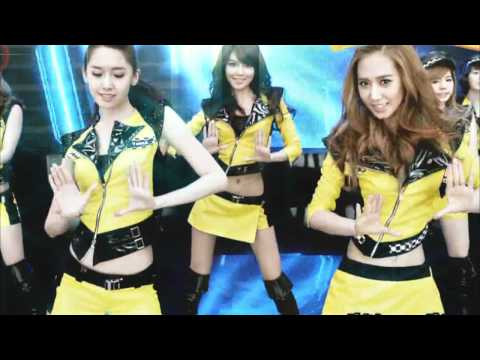 SNSD Mr.Taxi Black And Yellow Techno Remix