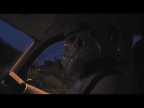Stormcab, Stormtrooper London Black Taxi Cab TX4 Driver, with Batman soundtrack