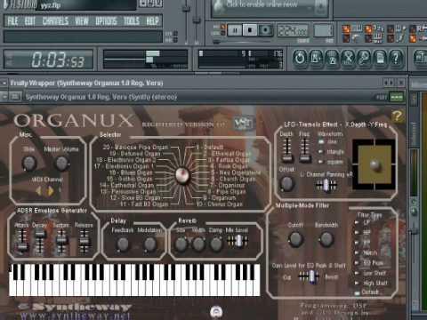 Mr Crowley Intro Syntheway Organux & Magnus Choir VSTi
