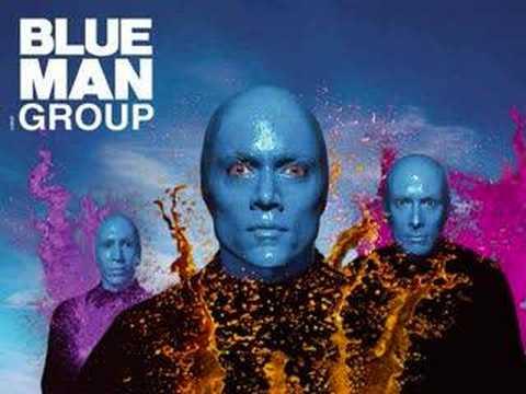 Blue Man Group: X-files Theme