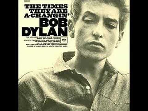 The Times They Are A-Changin - A Bob Dylan Song - My cover version
