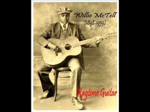 "Ragtime Guitar : BLIND WILLIE MCTELL . "" Southern Can Is Mine "" (1931)"