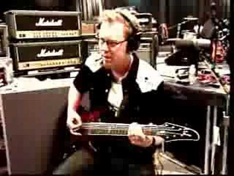 Kirk Struggles with a riff