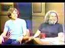 Jerry Garcia Bob Weir on Lettermen 4-13-82 1/4