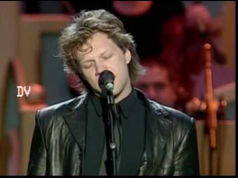 Jon Bon Jovi & Pavarotti - Let it Rain